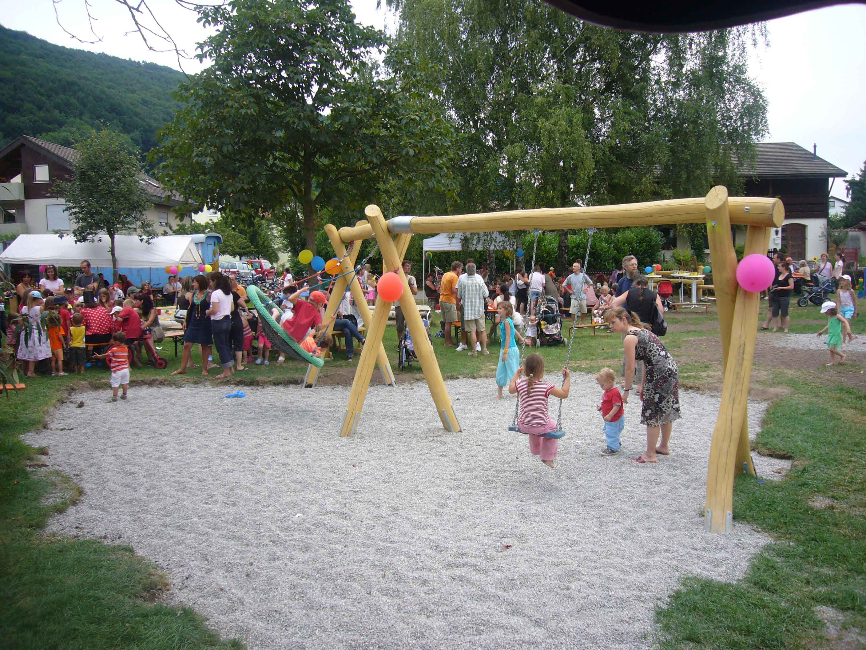 IG-Spielplatz-Schaukel