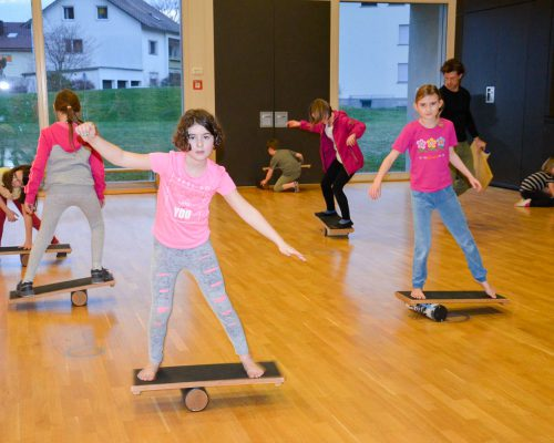 Balancieren lernen Kinder