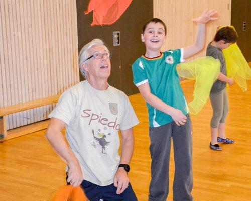 Jonglieren lernen für Kinder