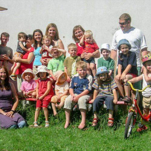 Kinder auf dem Spielplatz Herten