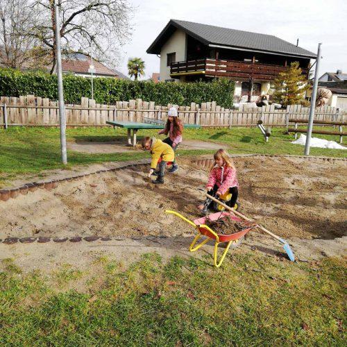 Spielplatz Sandkasten Herten