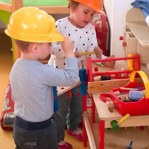 Werkzeugkasten Kinder